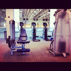 Andddd we're back! #gym #arc #queensu
