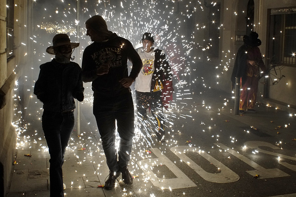 Correfoc Festa Major de Gràcia 2012