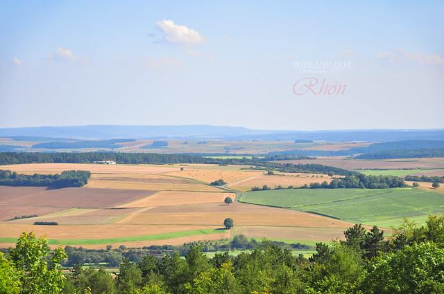 View from ruin Lichtenburg