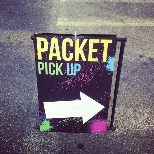 CR - packet pick-up
