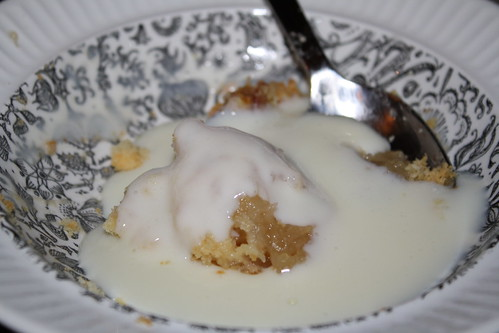 Apple Crumble & Custard
