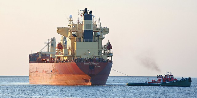 Federal Katsura bound for the Port of Milwaukee