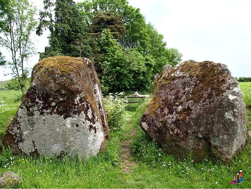 Entry stones to the Grange Stone Circle