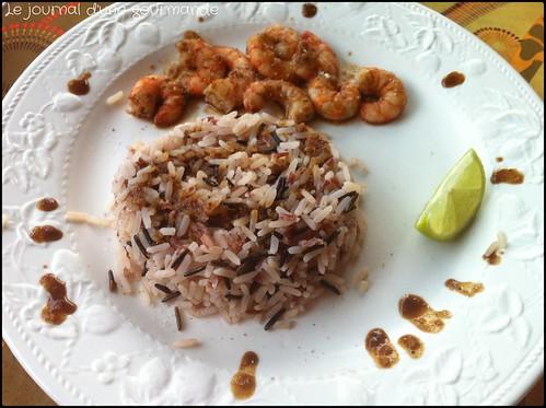 Crevettes aigres douces le journal d 39 une gourmande for Intuition gourmande paris