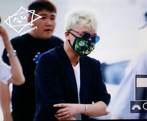 Big Bang - Incheon Airport - 26jun2015 - Power Victory - 02