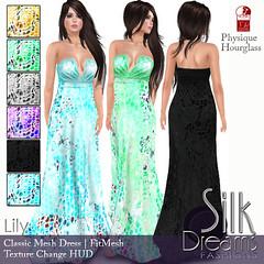 Silk Dreams Lily Poster