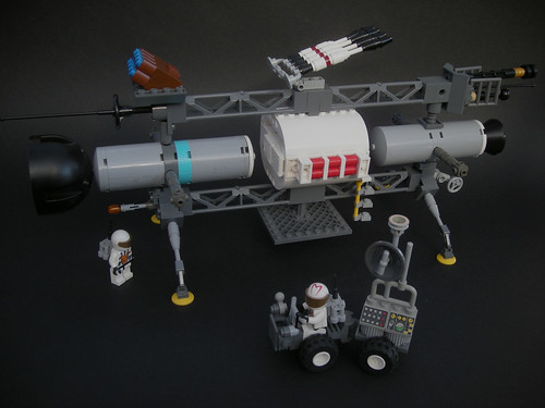 JAXA Japanese Lunar starfighter vessel