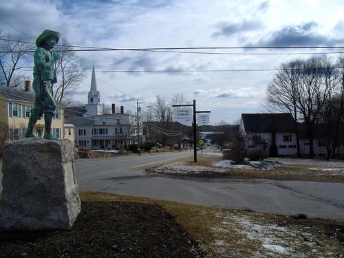 monument statue massachusetts historic ashburnham cushingacademy johnnyappleseedtrail