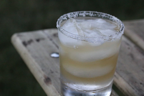 Fiery hot tequila margarita