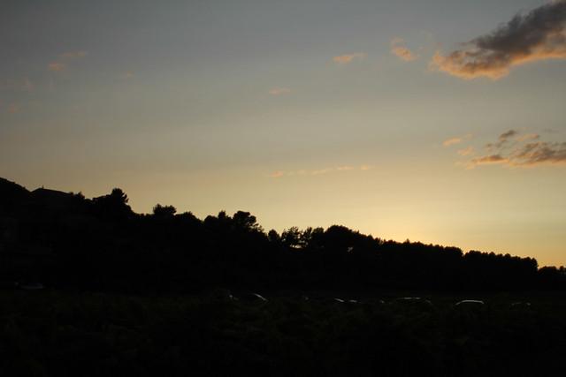 Bastille Day sunset