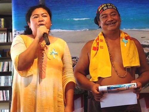 原住民歌手巴奈與那布長期為守護東海岸奔走,他們呼籲大家,跟星星、海浪一起來守護海洋。