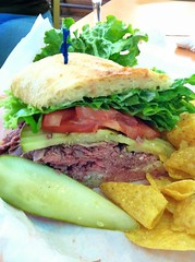 Hearst ranch beef sandwich