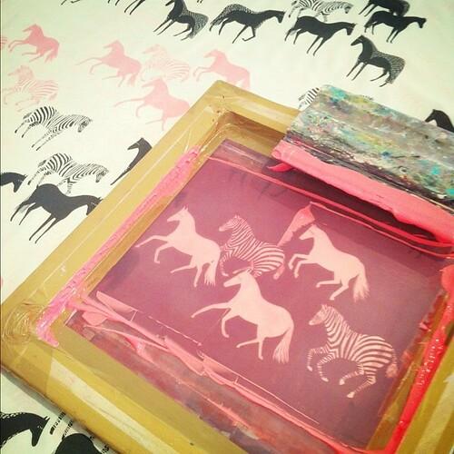 Printing horses...