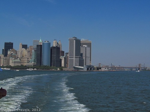 New York City Skyline as seen from the Staten Island Ferry