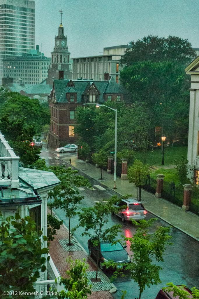 Providence thunderstorm