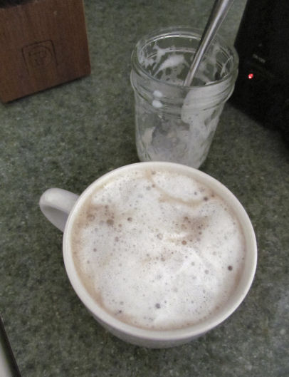 Coffee Foam at Home