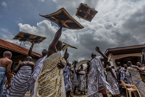 Akwasidae the great celebration  of the Ashanti in Kumasi by anthony pappone photographer