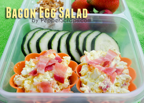 bacon egg salad