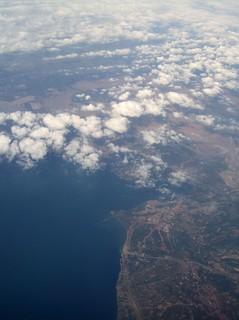 Erstes afrikanisches Festland unter unseren Flügeln