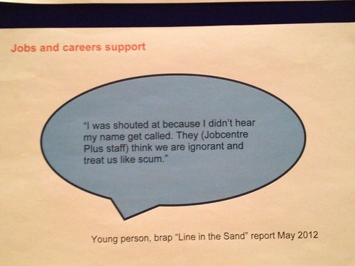 Quote from A Line in the Sand survey of 500 young people in Birmingham