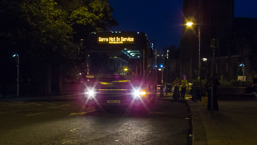 Megabus.com 54002 at Leeds Kirkgate (route M34)