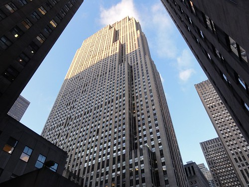 GE building at the Rockefeller Center