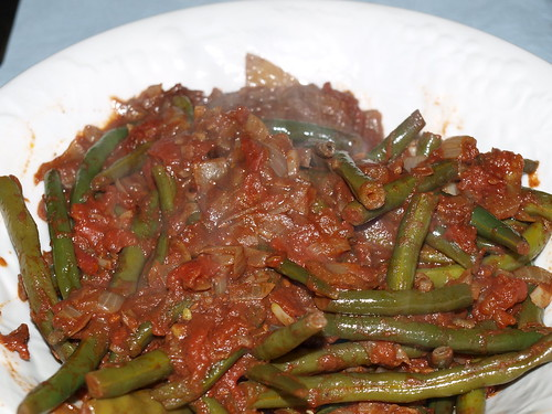Green Beans with Cumin and Tomatoes