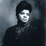 black and white photo of Ida B Wells