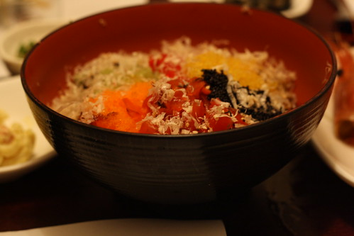 Rice Bowl with Fish Eggs