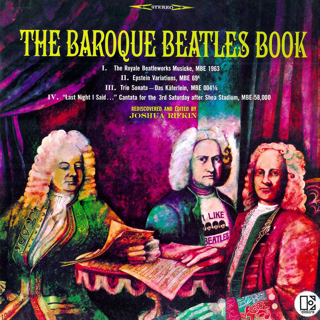 Book Cover Black Beatles : The baroque beatles book lp cover art