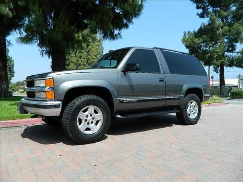 1999 2 Door Tahoe For Sale Craigslist | Autos Weblog
