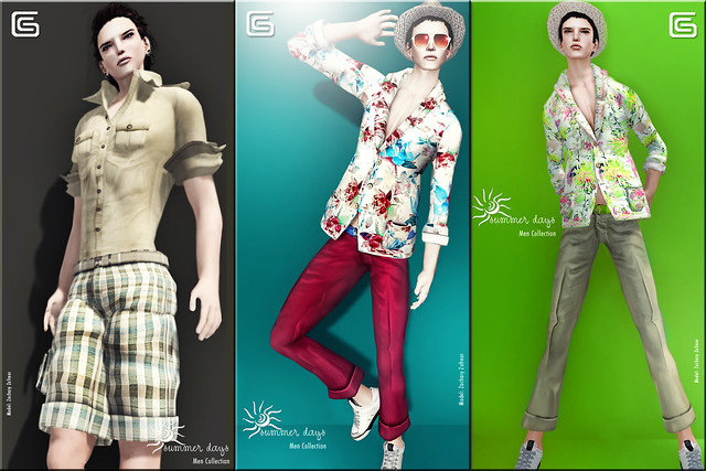 Gizza Summer Days Men Collection Ads