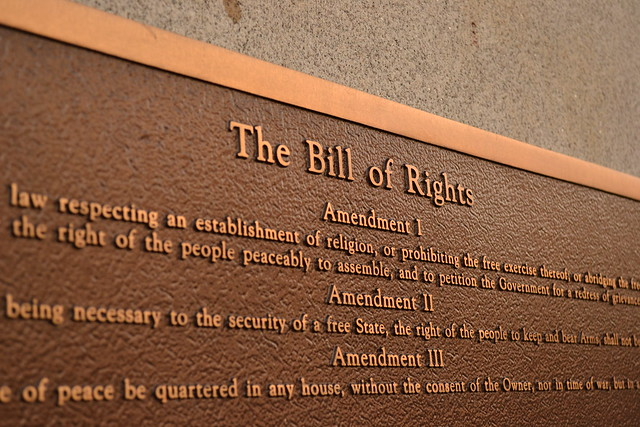 The Bill of Rights from Flickr via Wylio