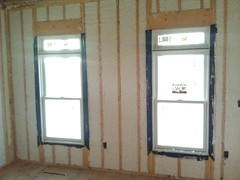 Living room insulated