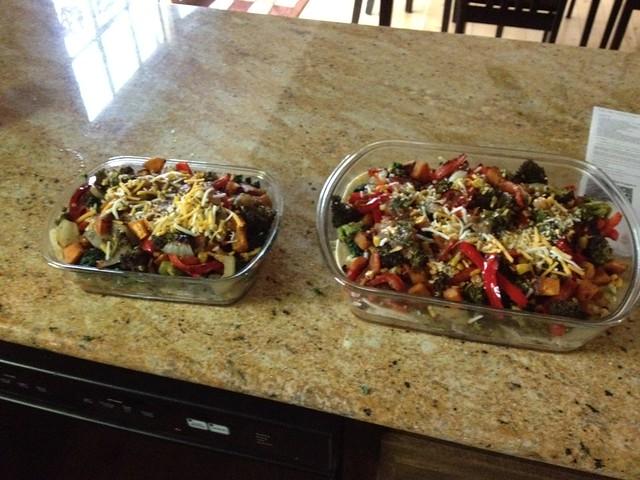 204 | 366 veggie enchiladas
