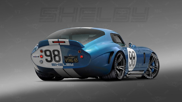 1965 Shelby Daytona Coupe Rear Quot Ferrari Killer