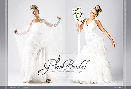 Flash site 26914 Glam bridal