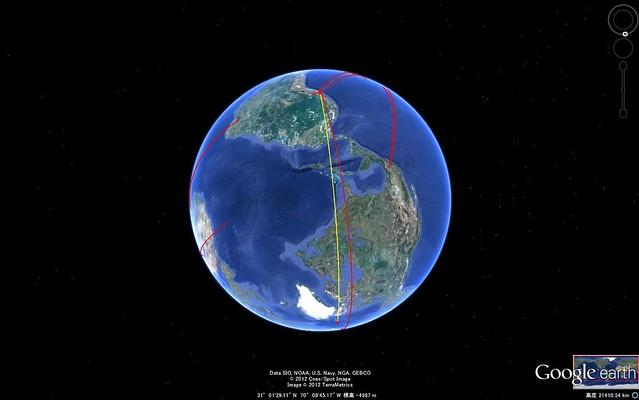 北極点ー大燭台2
