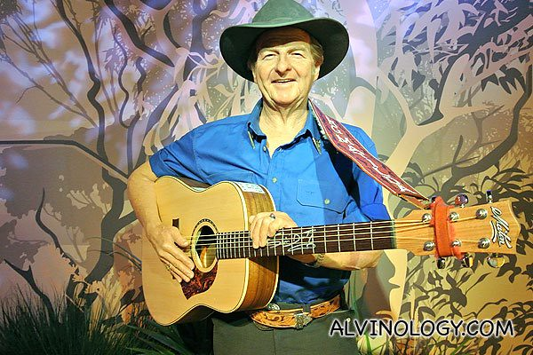 "David Gordon ""Slim Dusty "" Kirkpatrick, an Australian country music singer-songwriter and producer, with a career spanning nearly seven decades"