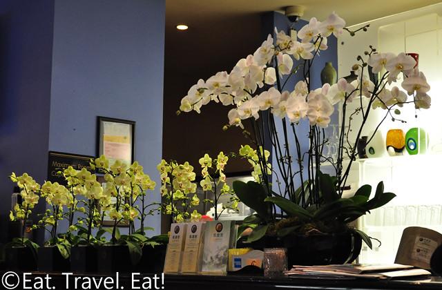 Lunasia Chinese Cuisine- Alhambra, CA: Orchids