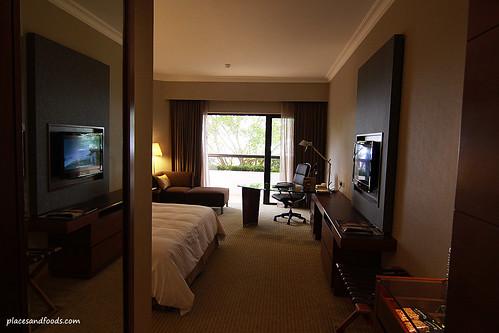 Equatorial hotel penang room reflection
