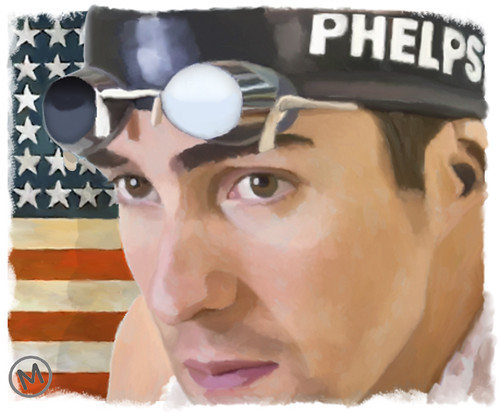 Michael Phelps by JLMeana