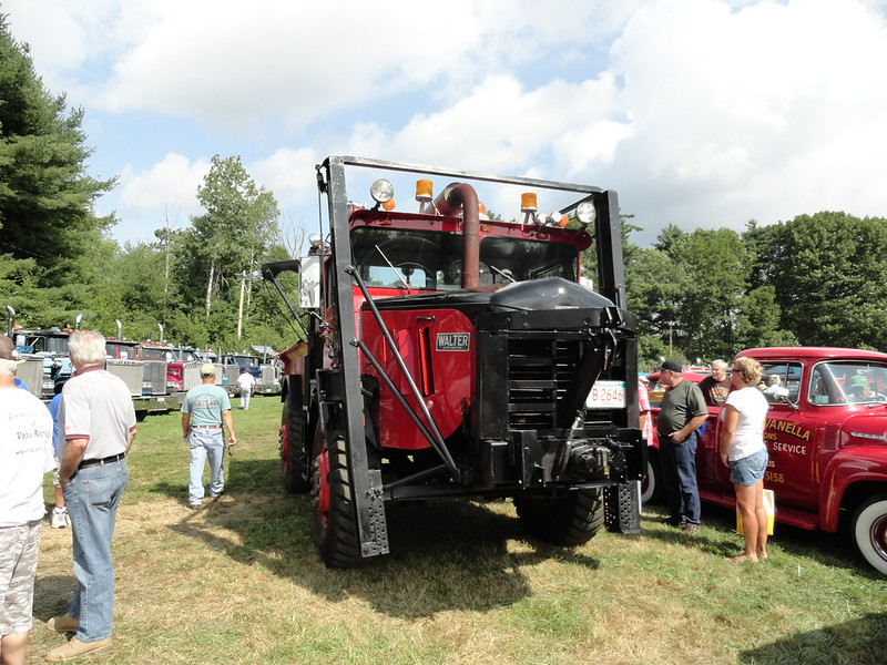 Antique Tractor Trailers : Ct tractor shows autos post