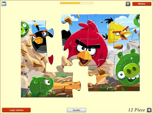 Angry Birds Jigsaw