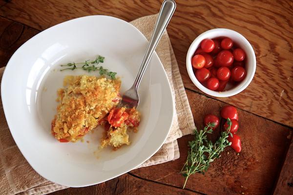 Tomato & Potato Gratin 135