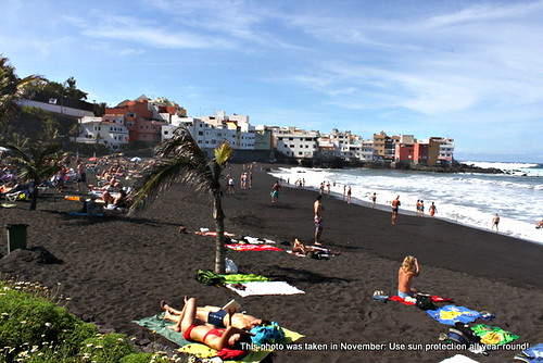 Playa Jardín, Puerto de la Cruz