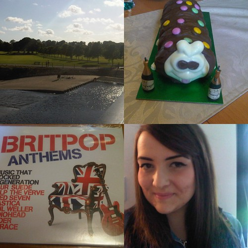 caterpillar cake, brit pop cd, bute park
