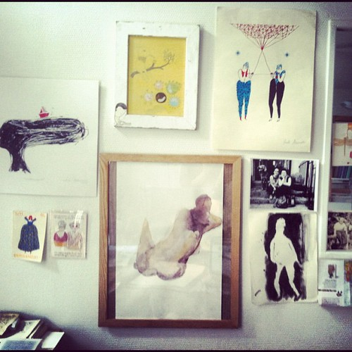 Inspiration wall by la casa a pois