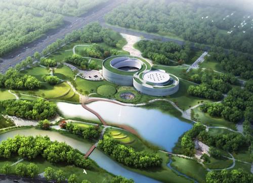 Создатели музея Самаранча в Китае вдохновлялись олимпийскими кольцами
