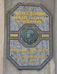 Photo of Multicoloured plaque № 11096
